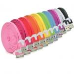 Cable USB To 4/4s/ipad/ipod (3M) ม้วนใหญ่ คละสี