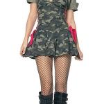 ชุดแฟนซี ชุด Halloween Cosplay ชุดเซ็กซี่ ฮาโลวีน ปาร์ตี้ คอสเพลย์ โคโยตี้ = ชุดทหารลายพราง เสื้อกั๊ก พร้อมหมวก =