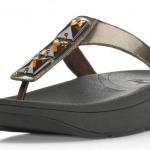 รองเท้า Fitflob Pietra Bronze สีน้ำตาลทอง No. FF098