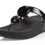 รองเท้า Fitflob Luna Black เพชร 2 เม็ด สีดำ No.FF083