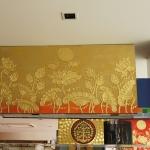 ภาพดอกบัวทอง ขนาด0.60x1.2เมตร