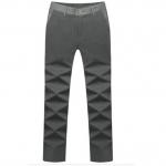 (Pre-Order) กางเกงทำงานผู้ชาย กางเกงขายาว กางเกงธุรกิจ ผ้าโพลีเอสเตอร์ สีเทา แฟชั่นกางเกงทำงานสไตล์เกาหลี