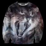 เสื้อยืดพิมพ์ลาย MR.GUGU & Miss GO : Galaxy Cat Sweater