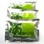 ใบทุเรียนเทศผง100% ในซองชา 210 กรัม. (Pure Air Dried Soursop Leaves in Tea Bag)