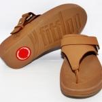 รองเท้า Fitflob Via (Nubuck) Tan สีน้ำตาล  No.FF124