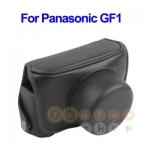 หมดค่ะ กระเป๋ากล้องหนัง เคสกล้อง Panasonic Lumix GF1 สีดำ