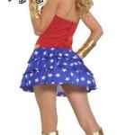 ชุดแฟนซี ชุดคอสเพลย์ ชุดการ์ตูน ชุดCosplay ชุดเซ็กซี่ = ชุดซุปเปอร์ฮีโร่ wonder girl วันเดอร์เกิร์ล super hero =