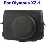 หมดค่ะ กระเป๋ากล้องหนังสีดำ OLYMPUS XZ-1