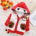 (พร้อมส่ง Size XL ) เสื้อกันหนาวลายหมี ผ้าหนาอย่างดี
