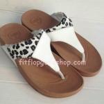 รองเท้า Fitflob New หูหนีบ สีขาว  No.FF322