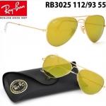 RB3025 112/93 | Ray-Ban AVIATOR LARGE METAL
