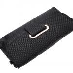 กระเป๋าคลัช แฟชั่นกระเป๋าสไตล์อิตาลี กระเป๋าหนังแท้สีดำ ยี่ห้อ TUCANO (ตรานกหัวขวาน)
