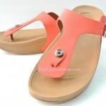 รองเท้า Fitflob New หูหนีบ เข็มขัด รุ่นใหม่ สีส้ม No.FF180