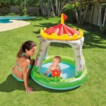 ( Royal Castle Baby Pool ) สระน้ำเป่าลมเด็ก ปราสาทน้อย ขนาด 122x122 ซม.