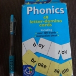 Phonics 49 letter – domino cards