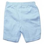 กางเกงขาสั้นเด็ก สีฟ้า ขนาด 3-6 เดือน