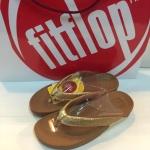 รองเท้า Fitflob Frou Princess Limited Edition สีส้ม No.FF473