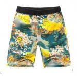 Pre-order กางเกงขาสั้น กางเกงลำลองฤดูร้อน กางเกงทะเล แฟชั่นสไตล์เกาหลี สำหรับหนุ่มไซส์ใหญ่ สีเหลือง Seiland