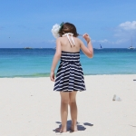ชุดเด็กไปเที่ยวทะเล ชุดไปเที่ยวทะเล