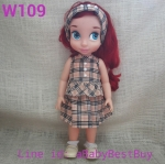 W109 เสื้อผ้าตุ๊กตา- Disney Animators' Collection Doll - 16'' (พร้อมส่ง)