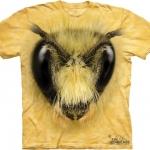 Pre.เสื้อยืดพิมพ์ลาย3D The Mountain T-shirt : Bee Head
