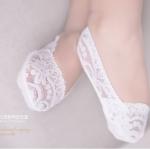 ถุงเท้าเด็กผ้าลูกไม้ สำหรับใส่กับรองเท้าคัชชู สำเนา