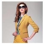 Pre-Order เสื้อสูททำงาน เสื้อสูทผู้หญิง สูทเนี้ยบ แบบผู้ดีสวิส สไตล์เกาหลี