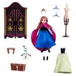 Wardrobe Anna Mini Doll Play Set - Frozen