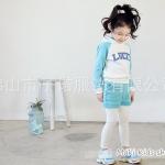 ชุดเสื้อ กางเกงซ้อนเลคกิ้ง เสื้อผ้าเด็กหญิงแนวสปอร์ต PinkIdeal
