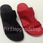 รองเท้า Fitflob New สวม สีแดง , สีดำ  No.FF375