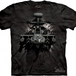 Pre.เสื้อยืดพิมพ์ลาย3D The Mountain T-shirt : Apache Breakthru