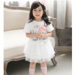 กระโปรงขนมชั้นสีขาวๆฟู PinkIdeal