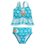Elsa Deluxe Swimsuit for Girls ของแท้ นำเข้าจากอเมริกา