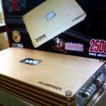 เพาเวอร์แอมป์รถยนต์ คลาสดี 2500 W (RMS ) ยี้ห้อ TEXAS รุ่น TX-AMP9925