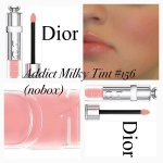 ** พร้อมส่ง ** Dior Addict Milky Tint Nourishing Lip Fluid Wet Effect 156 milky pastel (tester 5.5 มิล ไม่มีกล่อง)