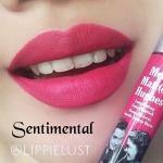 **พร้อมส่งค่ะ**The Balm Meet Matte Hughes Long Lasting Liquid Lipstick สี Sentimental