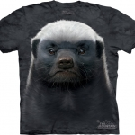 พร้อมส่ง .เสื้อยืดพิมพ์ลาย3D The Mountain T-shirt : Honey Badger
