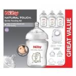Nuby Natural Touch Bottle Feeding Kit ชุดเซ็ทขวดนม
