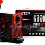 GTECH Power Supply 600W (Black/Red)