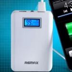 Power Bank แบตสํารองมือถือ Remax 10400 mAh