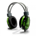"HeadSet+Mic 'NUBWO' (A6) Green ""Nobox"""