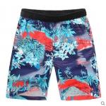 Pre-order กางเกงขาสั้น กางเกงลำลองฤดูร้อน กางเกงทะเล แฟชั่นสไตล์เกาหลี สำหรับหนุ่มไซส์ใหญ่ สีแดง Seiland