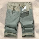 Pre-order กางเกงขาสั้น กางเกงลำลองฤดูร้อน กางเกงทะเล แบบทูโทน แฟชั่นสไตล์เกาหลี สีเขียว