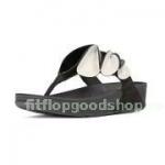 รองเท้า Fitflob Hanabira สีดำ No.FF359