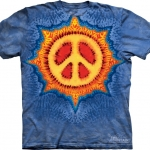 Pre.เสื้อยืดพิมพ์ลาย3D The Mountain T-shirt : Peace Sun MD
