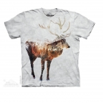 The Mountain - Snow Elk T-Shirt