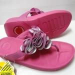 รองเท้า Fitflob Frou Princess Limited Edition Pink/silver สีชมพูเงิน No.FF271