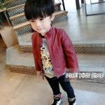 เสื้อแจ็คเก็ตเด็กสีแดง ไซส์ 15