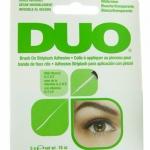 * พร้อมส่ง **Duo Clear Brush On Striplash Adhesive กาวติดขนตาที่ใช้ง่ายมากๆ ด้วยพู่กันค่ะ เป็นรุ่นที่ใช้งานง่าย เพราะมีหัวแปรง ที่สามารถทาขนตาปลอมได้ง่าย หัวปลายแหลม เรียวเล็ก ง่ายต่อการปาดกาวลงเส้นขนตา
