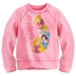 z Disney Princess Sweatshirt for Girls ของแท้ นำเข้าจากอเมริกา (Size: 4)